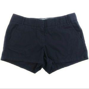 J. Crew Dark Navy Broken In Chino Shorts Women's 4